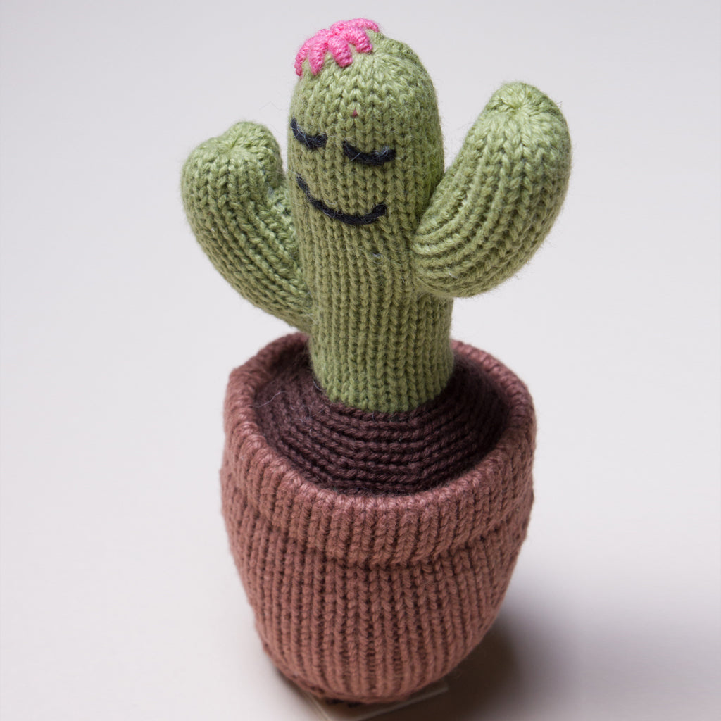 Estella - Baby Rattle Toy-Cactus