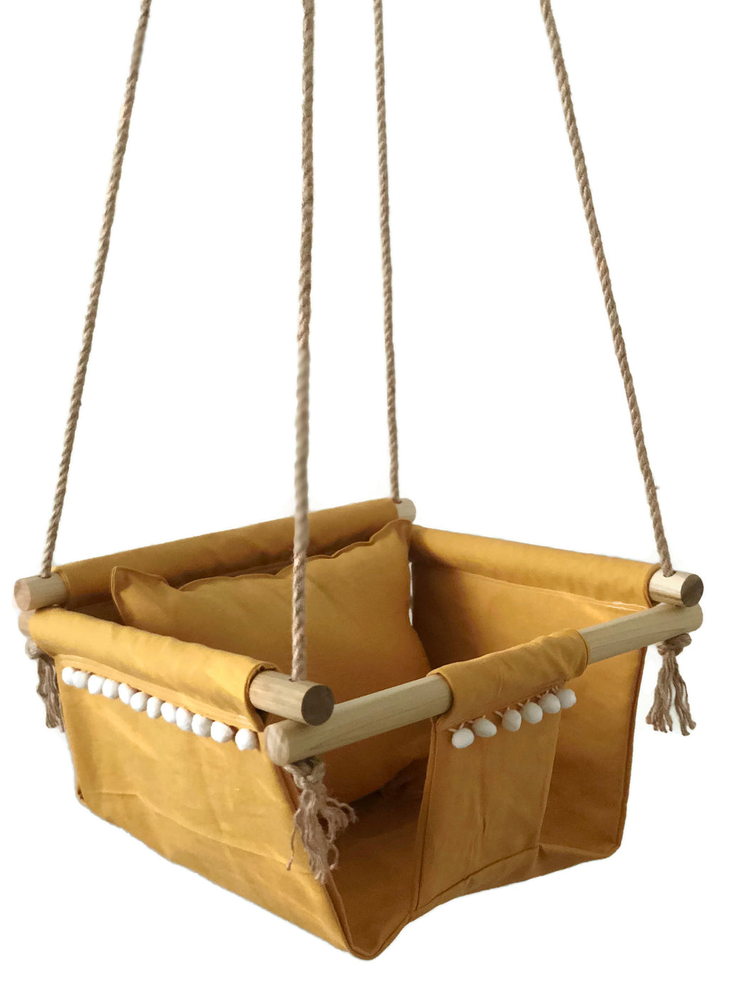 Scout Baby Co. - Mustard Yellow Baby Swing