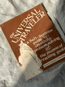 "Vintage ""The Universal Traveler"" Book"
