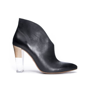 Kisses Leather Bootie