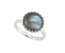 Portland Cabochon Gemstone Ring