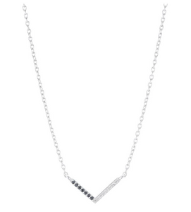 Portland Pave Chevron Necklace