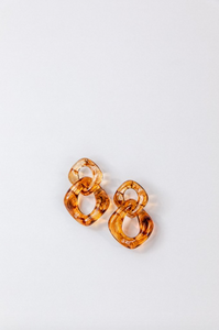 Acrlyic Chain Earrings