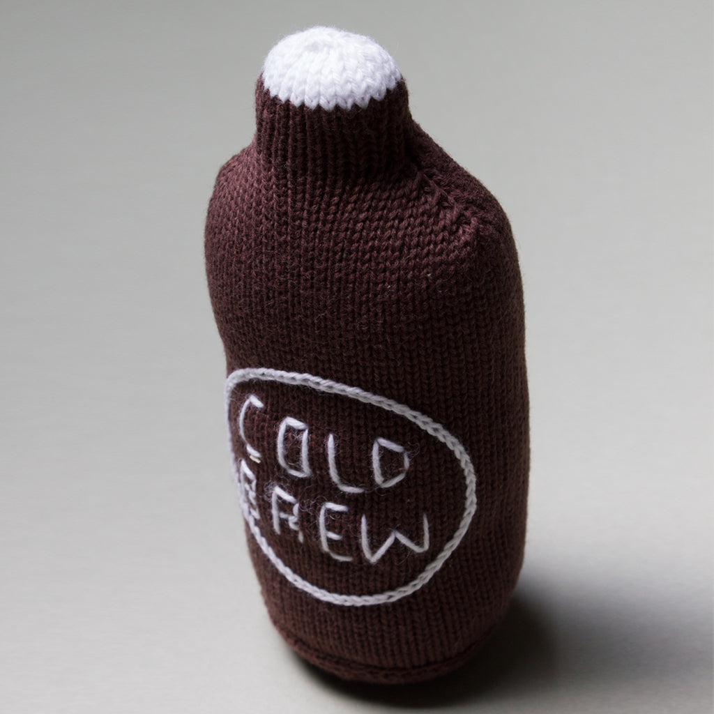 Estella - Organic Baby Toy - Cold Brew Coffee Rattle