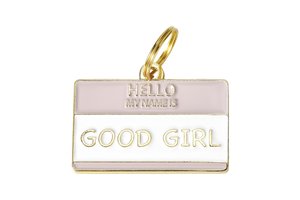 Good Girl Collar Charm