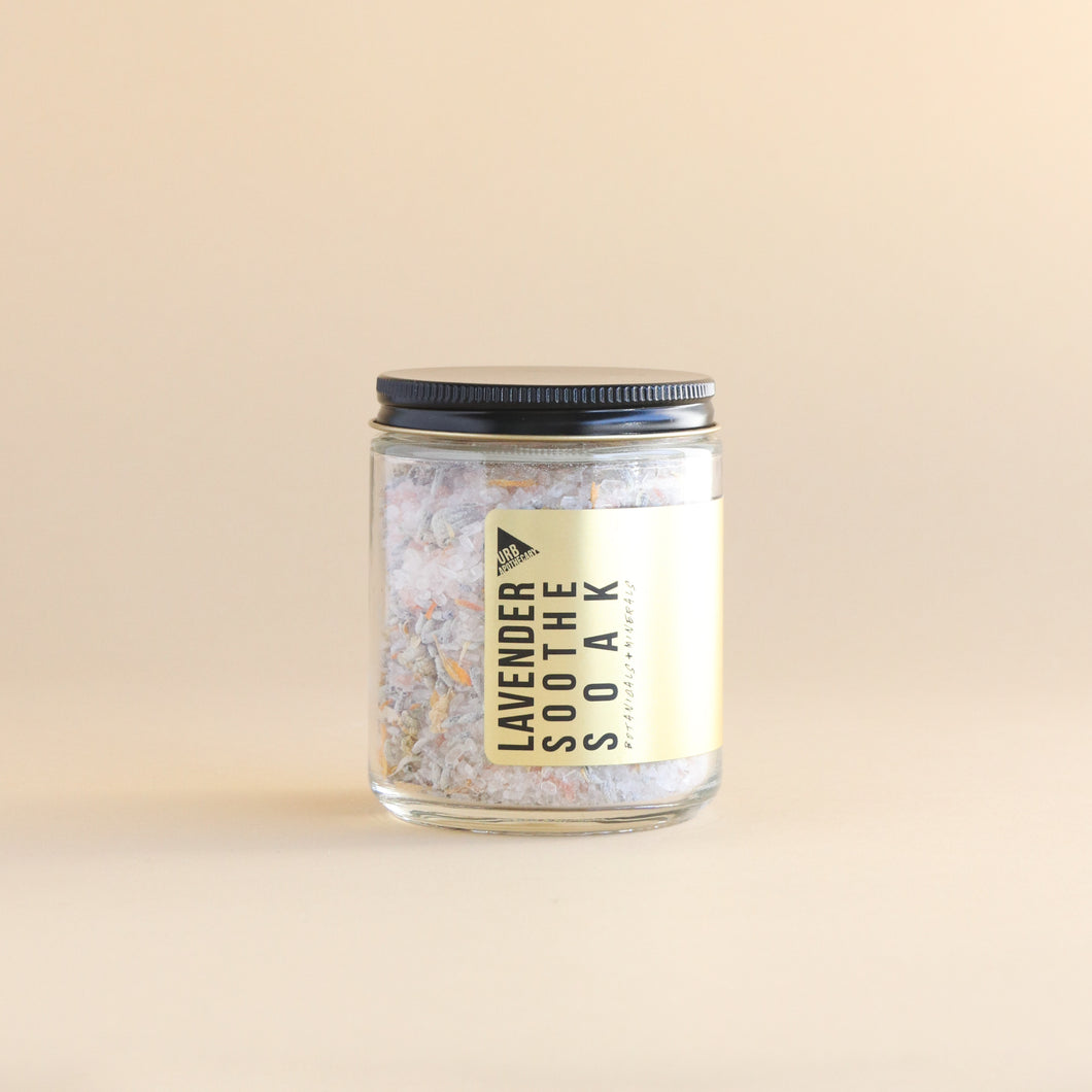 URB APOTHECARY - LAVENDER SOOTHE SOAK