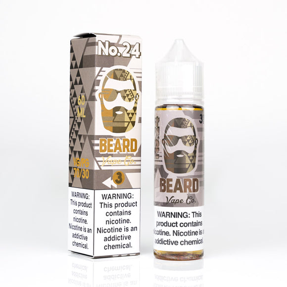 Beard Vape Co - #24 60ml-120ml