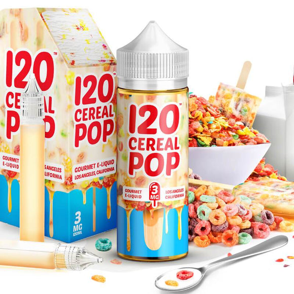 Madhatter Cereal Pop 120ml