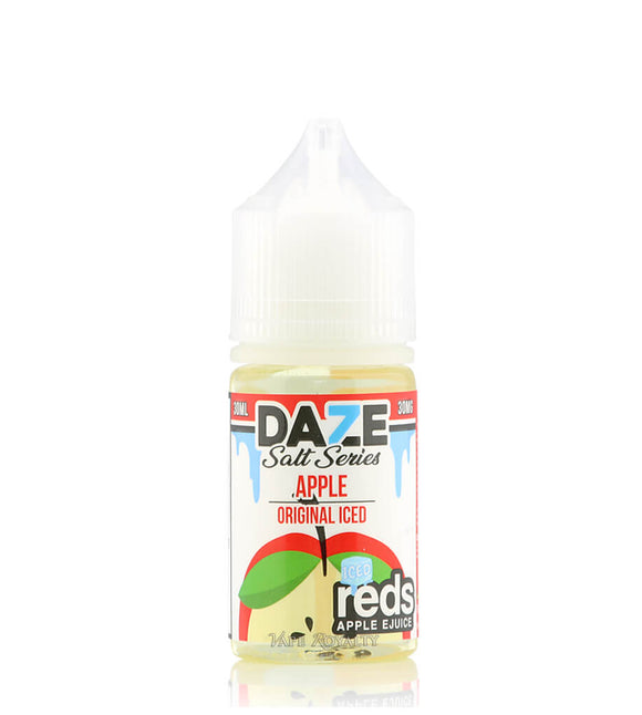 7 Daze Reds Apple Salts - Original Apple Iced