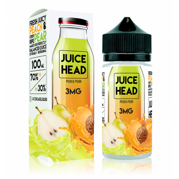 Juice Head 100ml - Peach Pear