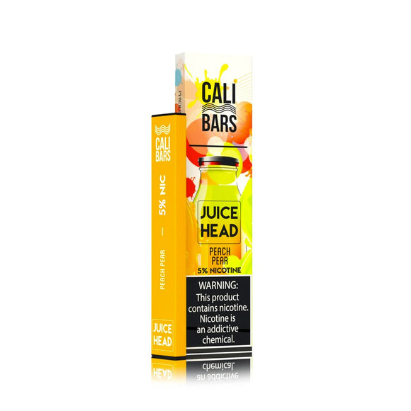 Juice Head Disposables by Cali Bars - Peach Pear