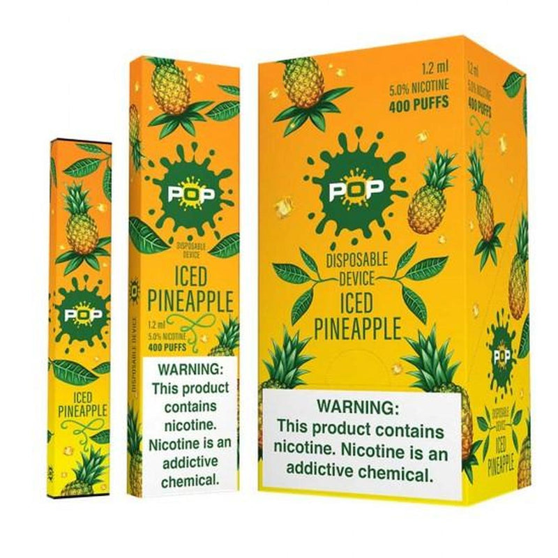 Pop 1.2 ml Disposables 5% Nic - Iced Pineapple