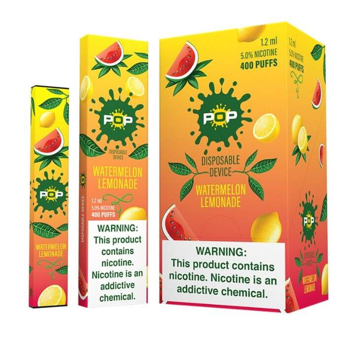 Pop 1.2 ml Disposables 5% Nic - Watermelon Lemonade