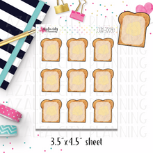 Toast It Note Stickers