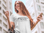 """Generational Wealth is My Love Language"" WOMEN'S Dolman Tee"