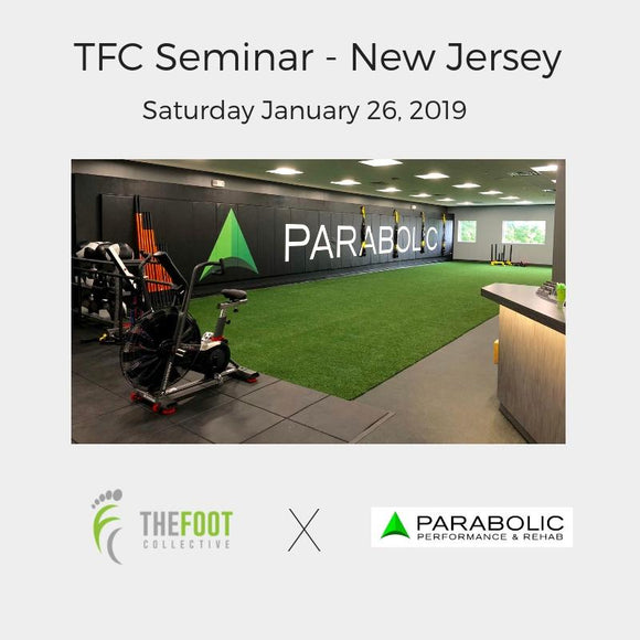 TFC Seminar - New Jersey, January 26, 2019