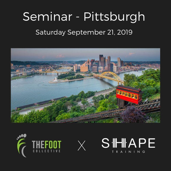 Seminar - Pittsburgh. September 21, 2019