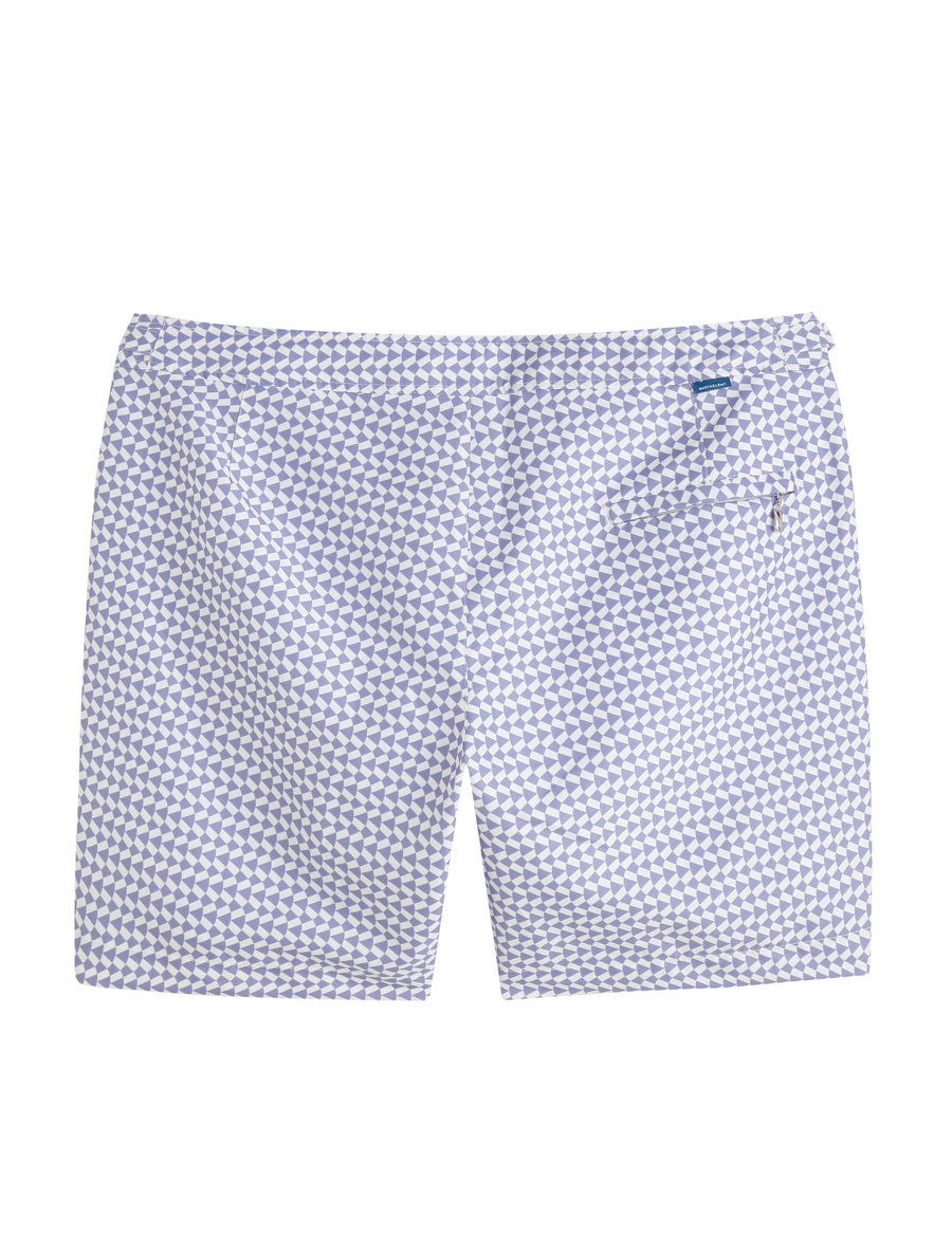 Kids Striped White Navy - Barthelemy