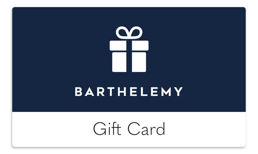 Gift Card - Barthelemy