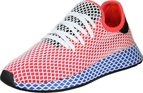 9cd4e263dd adidas Deerupt Runner, Chaussures de Gymnastique Homme, Rouge (Solar Red/Solar  Red/Bluebird), 43 1/3 EU