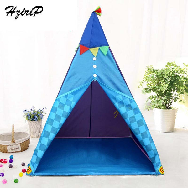 HziriP Children Tent Portable Foldable Tipi Camping Game Toy Waterproof Baby Play House Outdoor Fun Toys Tent for Kids Gifts