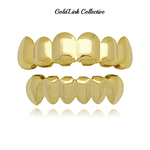 14k Gold Grill Set