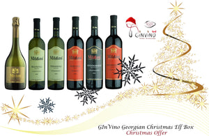 GInVino Georgian Christmas Elf Box Offer
