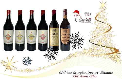 GInVino Georgian Qvevri Christmas Ultimate Box Offer