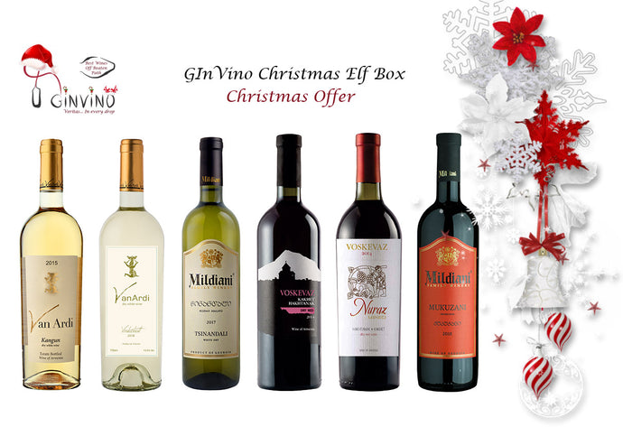 GInVino Christmas Elf Box Offer