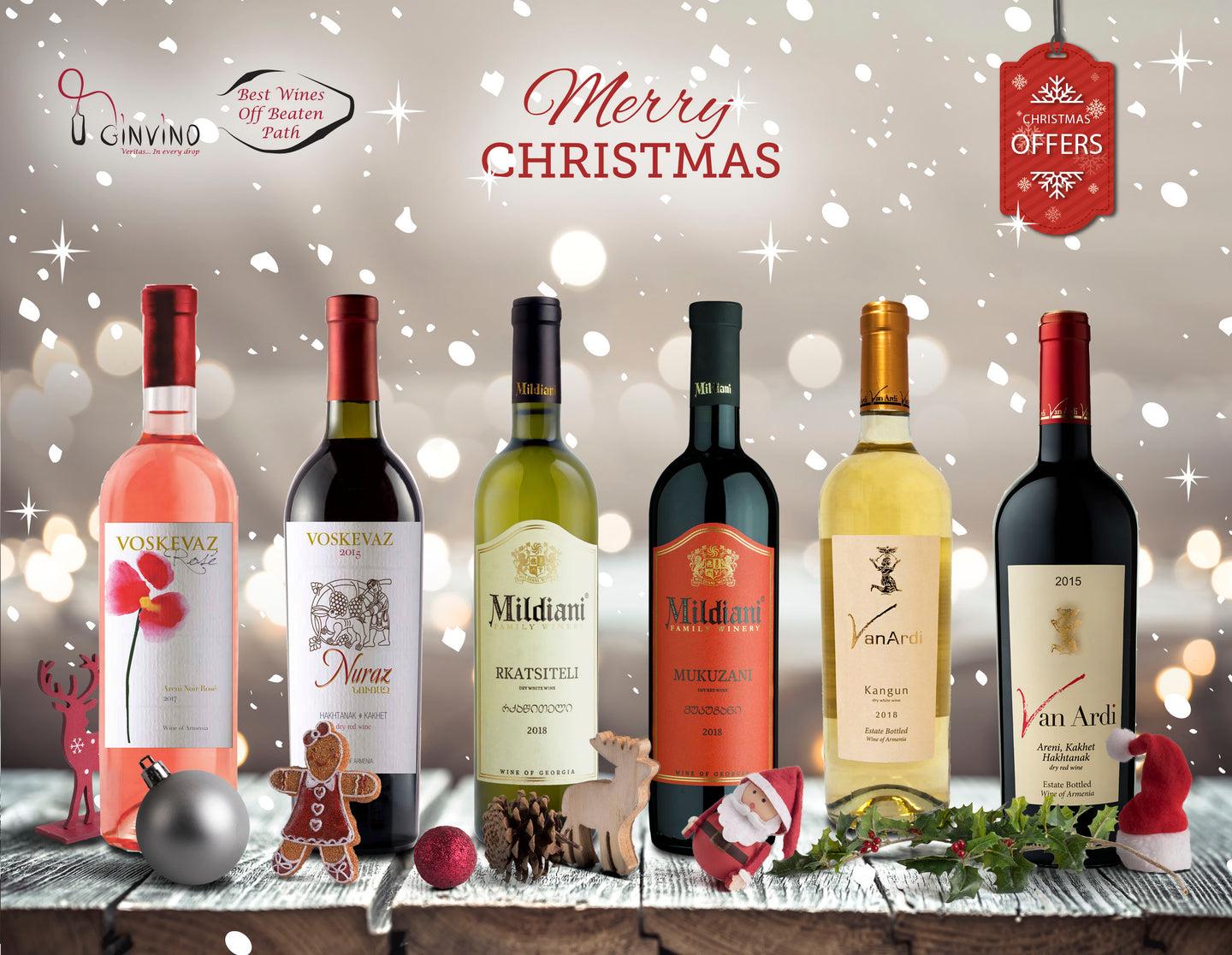 GInVino Christmas Santa Box Offer