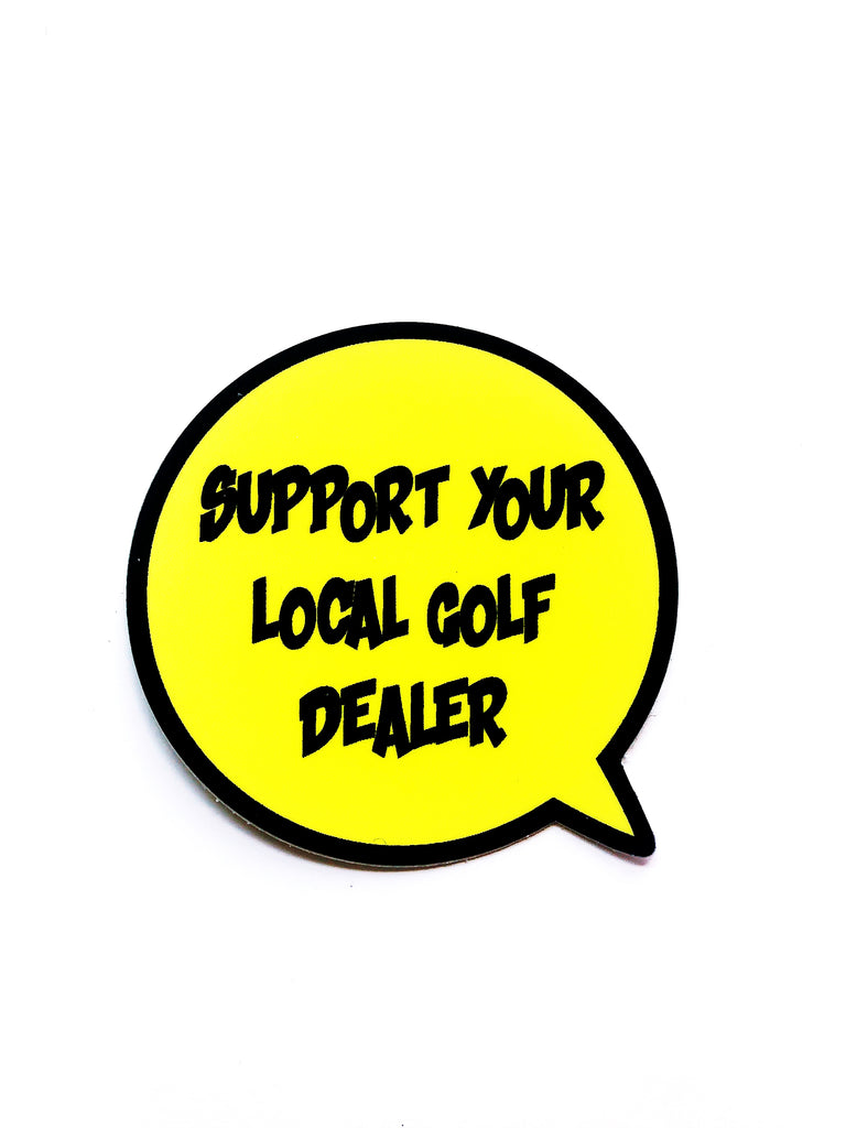 ORIGIN GOLF SUPPORT YOUR LOCAL GOLF DEALER