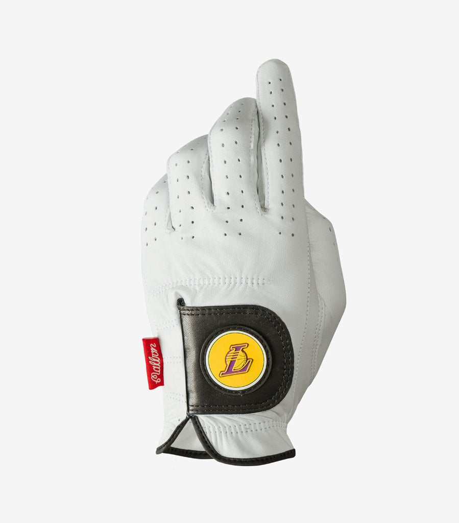 ASHER GOLF GLOVE LOS ANGELES LAKERS HOME