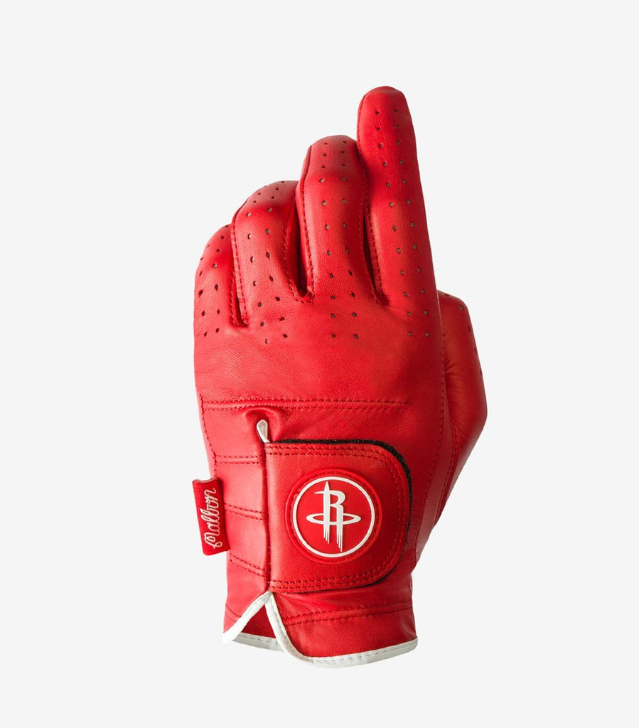 ASHER GOLF GLOVE HOUSTON ROCKETS AWAY