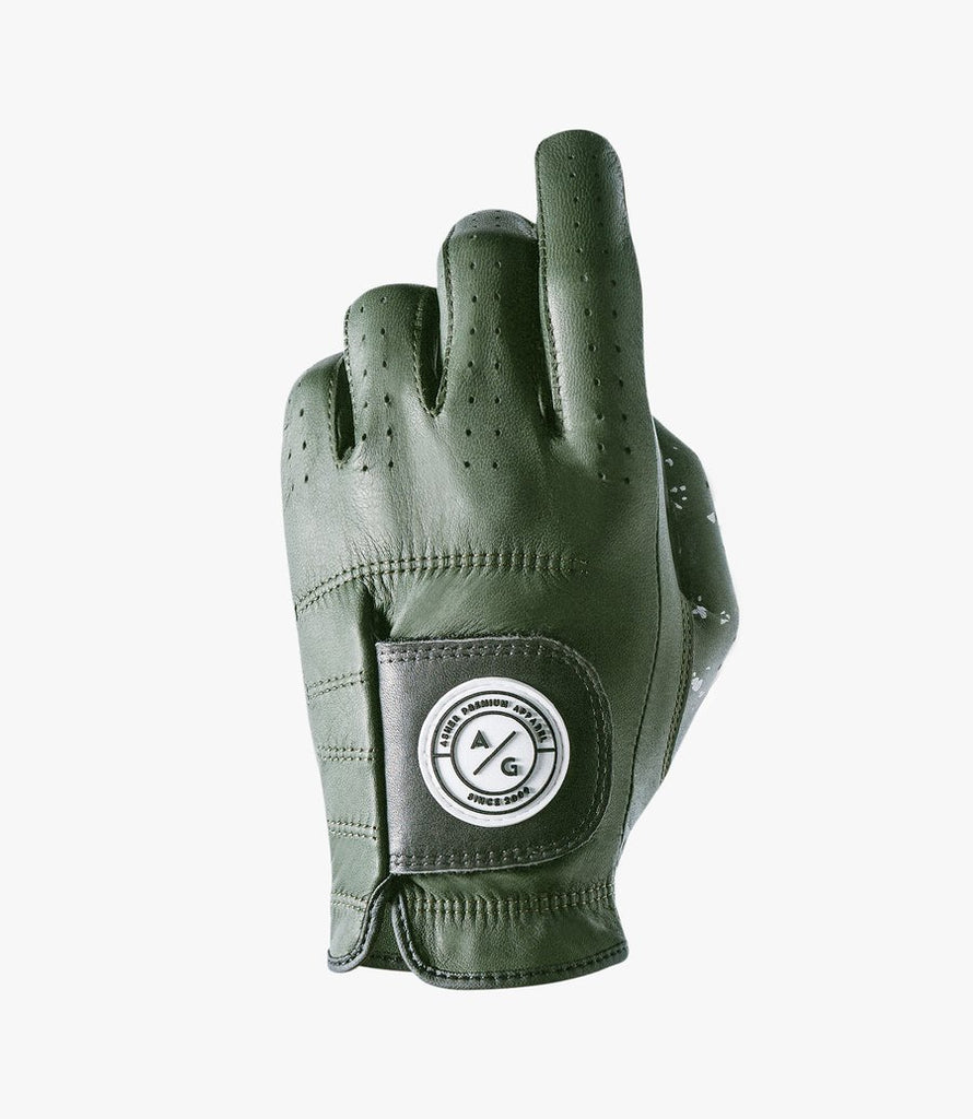 ASHER GOLF GLOVE PREMIUM OLIVE