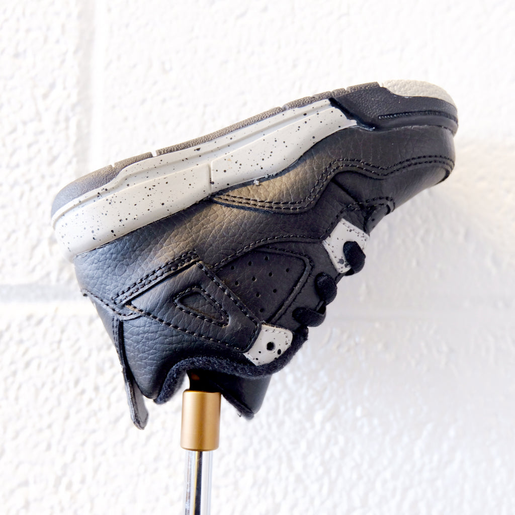 AJ4 RETRO OREO PUTTER HEADCOVER (BLACK/TECH GREY)