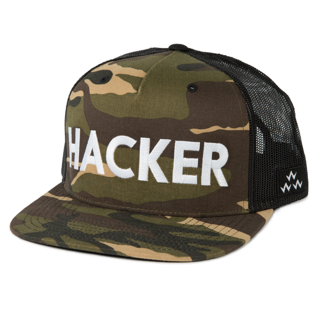 BIRDS OF CONDOR HACKER TRUCKER HAT