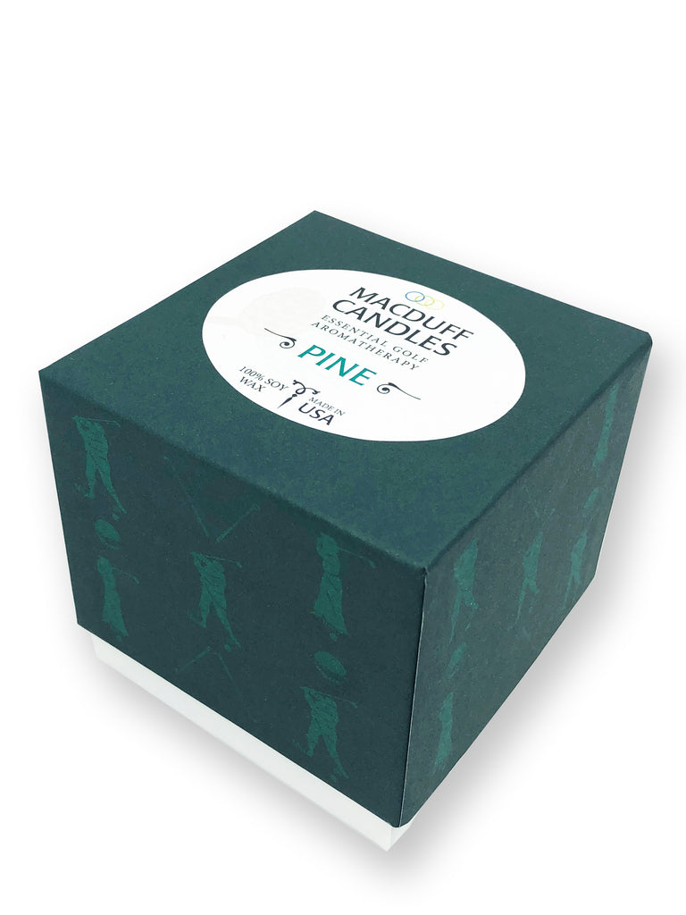 ORIGIN GOLF X MAC DUFF CANDLES - PINE SCENT