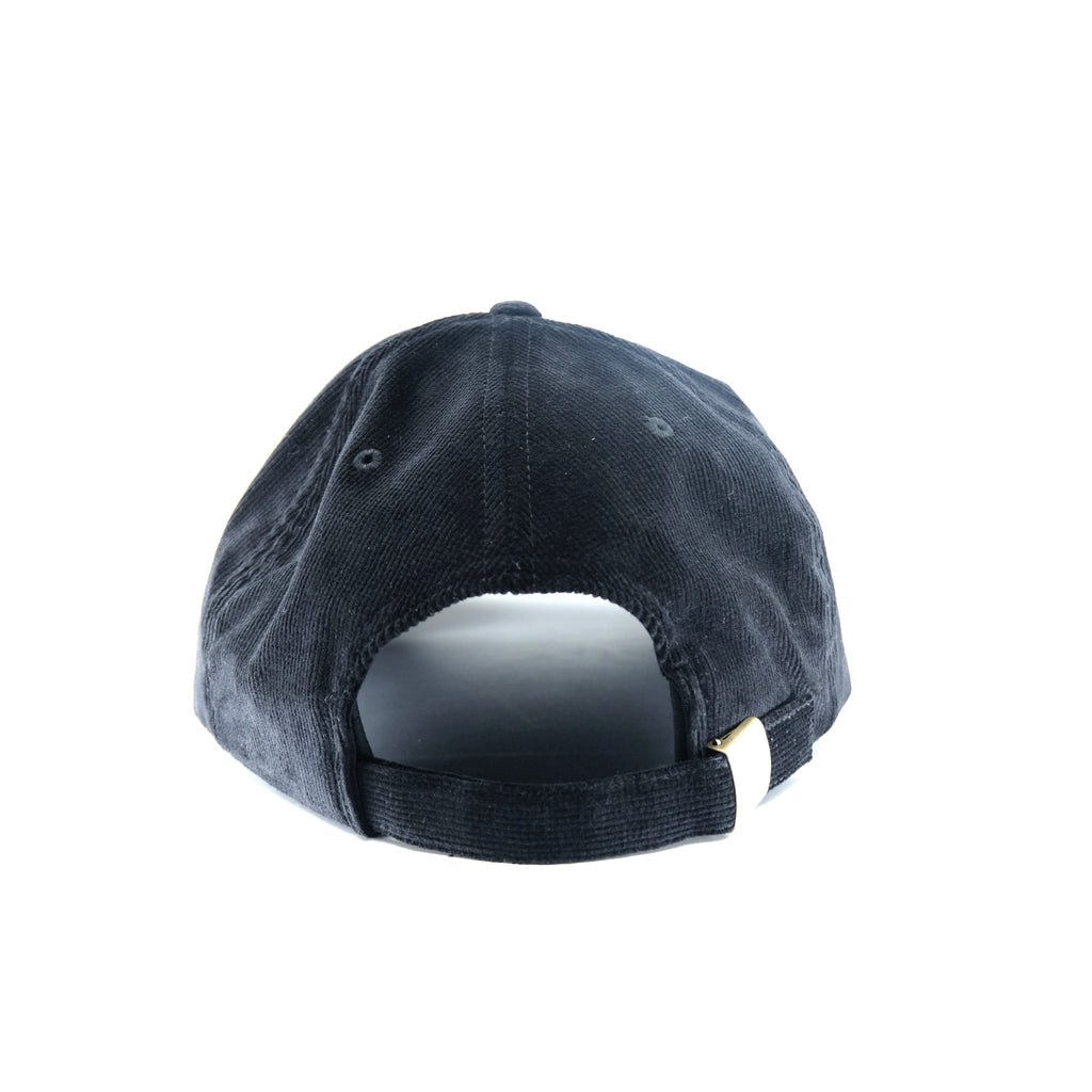 CLUB JAPAN CORDUROY DAD HAT (BLACK)