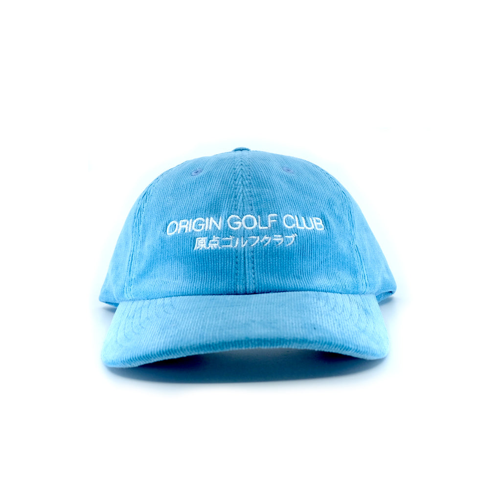 CLUB JAPAN CORDUROY DAD HAT (AIR BLUE)