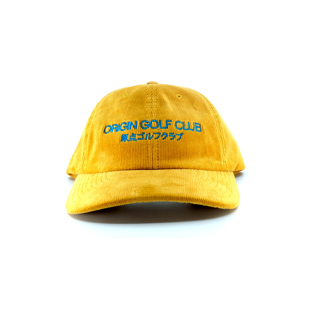 CLUB JAPAN CORDUROY DAD HAT (MUSTARD)