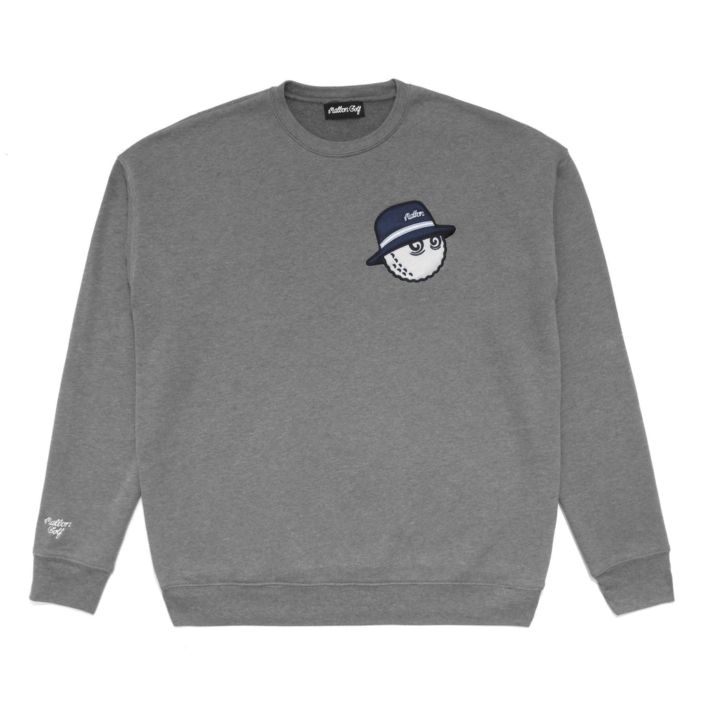 MALBON GOLF COOPER SWEATSHIRT (HEATHER GREY)