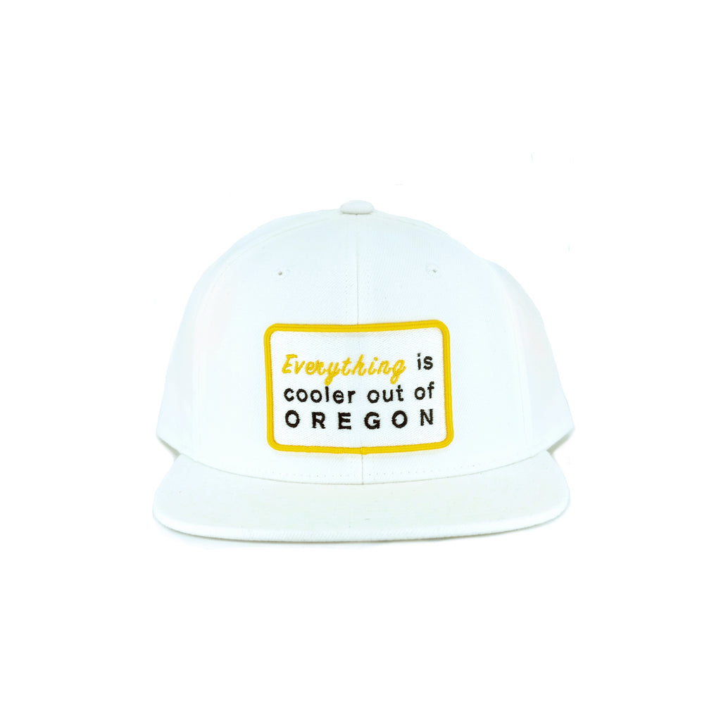 """EVERYTHING"" PATCH SNAPBACK (WHITE)"