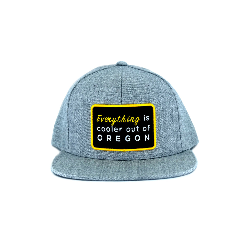"""EVERYTHING"" SNAPBACK (HEATHER GREY)"