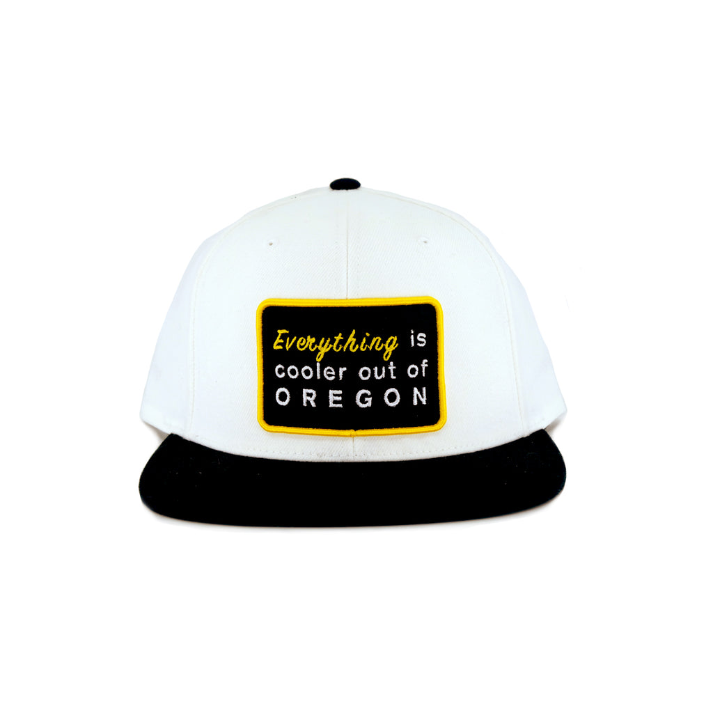"""EVERYTHING"" SNAPBACK (WHITE & BLACK)"