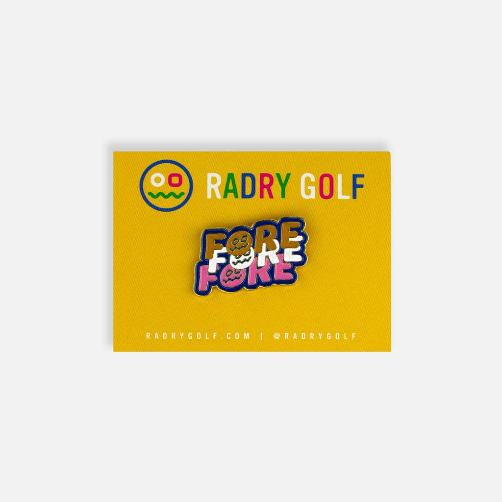 RADRY GOLF FORE PIN