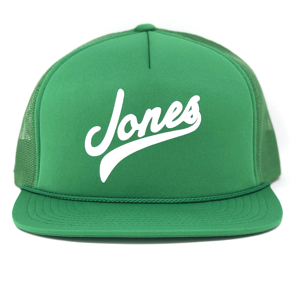 JONES SPRING TRAINER HAT - KELLY GREEN