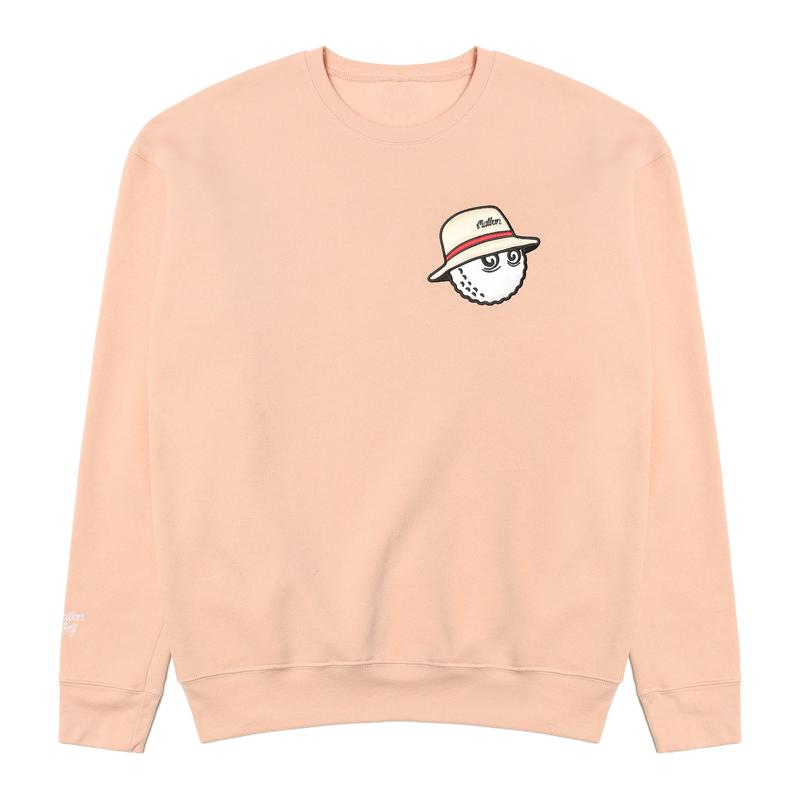 MALBON GOLF COOPER SWEATSHIRT (PEACH)