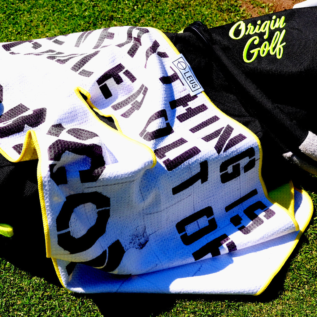 "ORIGIN X LEUS ""EVERYTHING"" CADDY TOWEL"