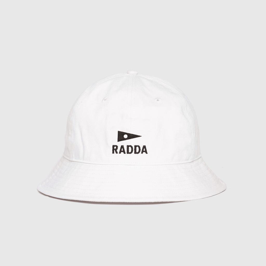 RADDA GOLF NULLARBOR LINKS BUCKET HAT (WHITE)