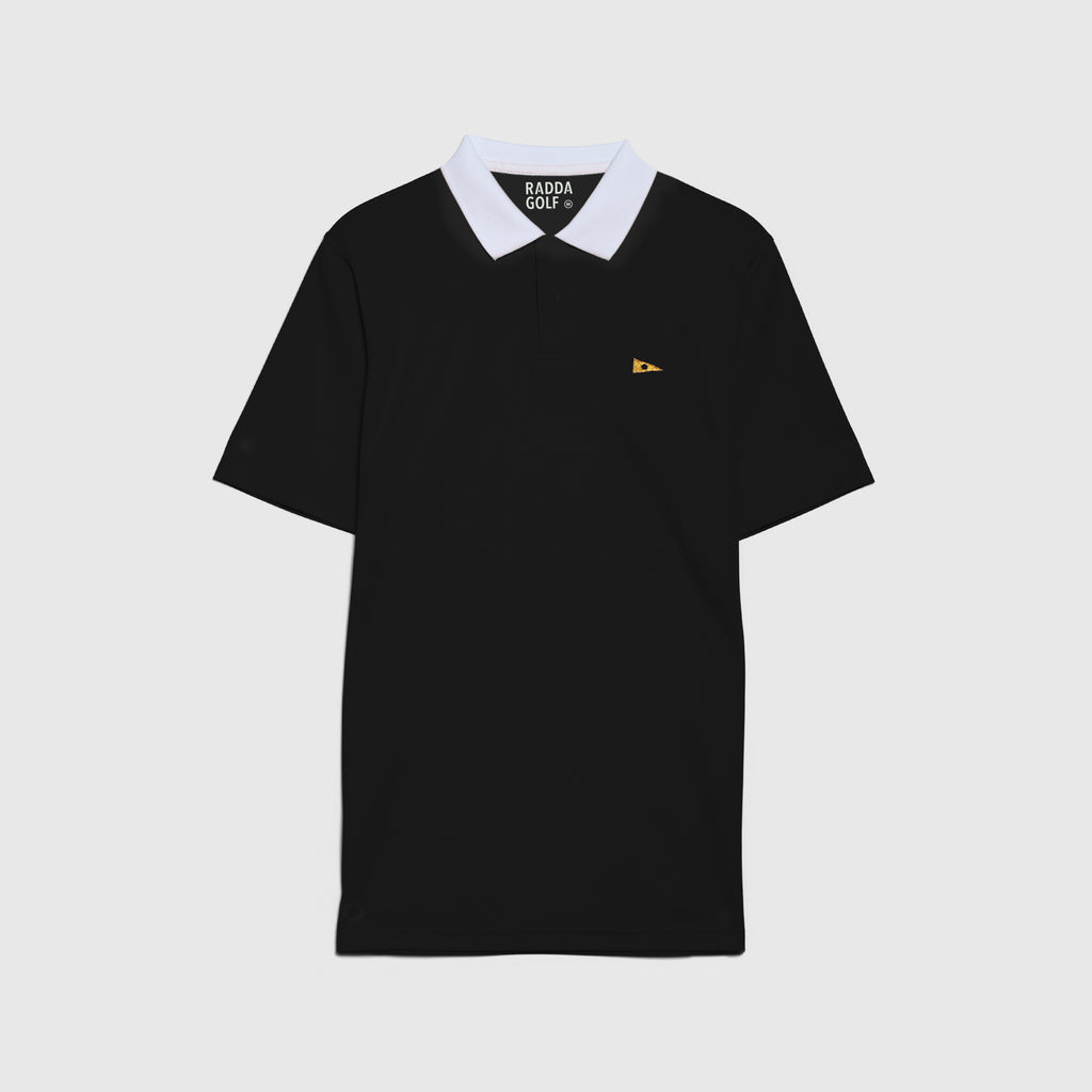 RADDA GOLF NORMAN POLO (BLACK)